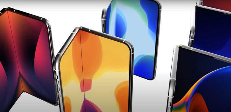 Dos prototipos de iPhone plegables pasan pruebas internas de durabilidad