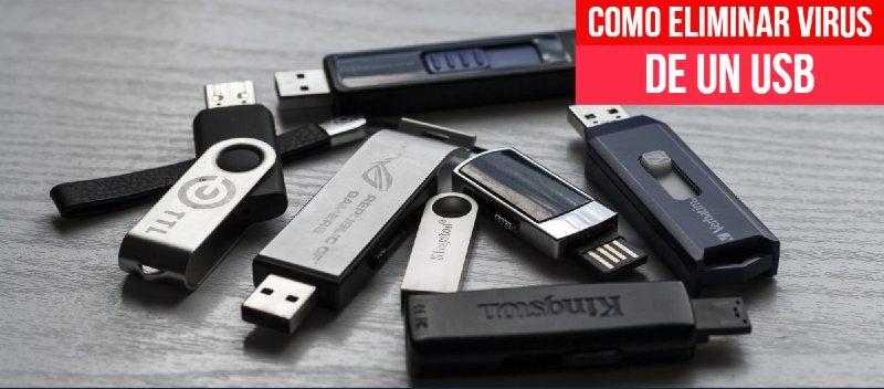 Cómo eliminar un virus de un USB