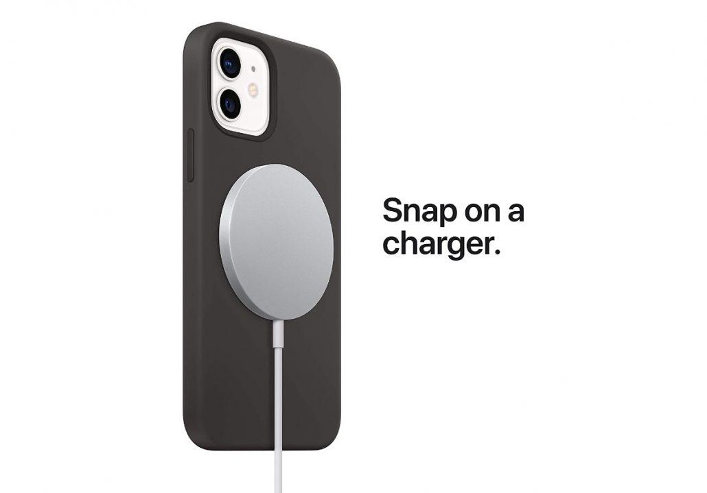 cargador inalámbrico MagSafe de Apple