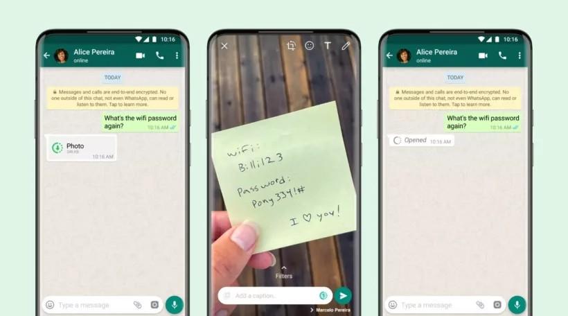 WhatsApp finalmente está implementando el modo Ver una vez