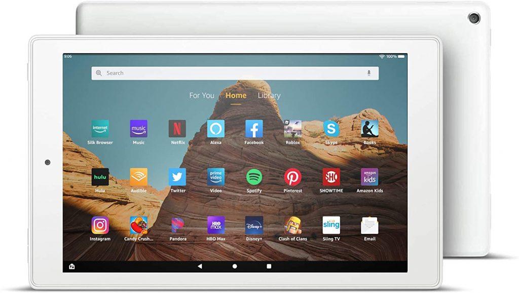 Tablet Fire HD 10 (pantalla de 10.1 pulgadas marca amazon