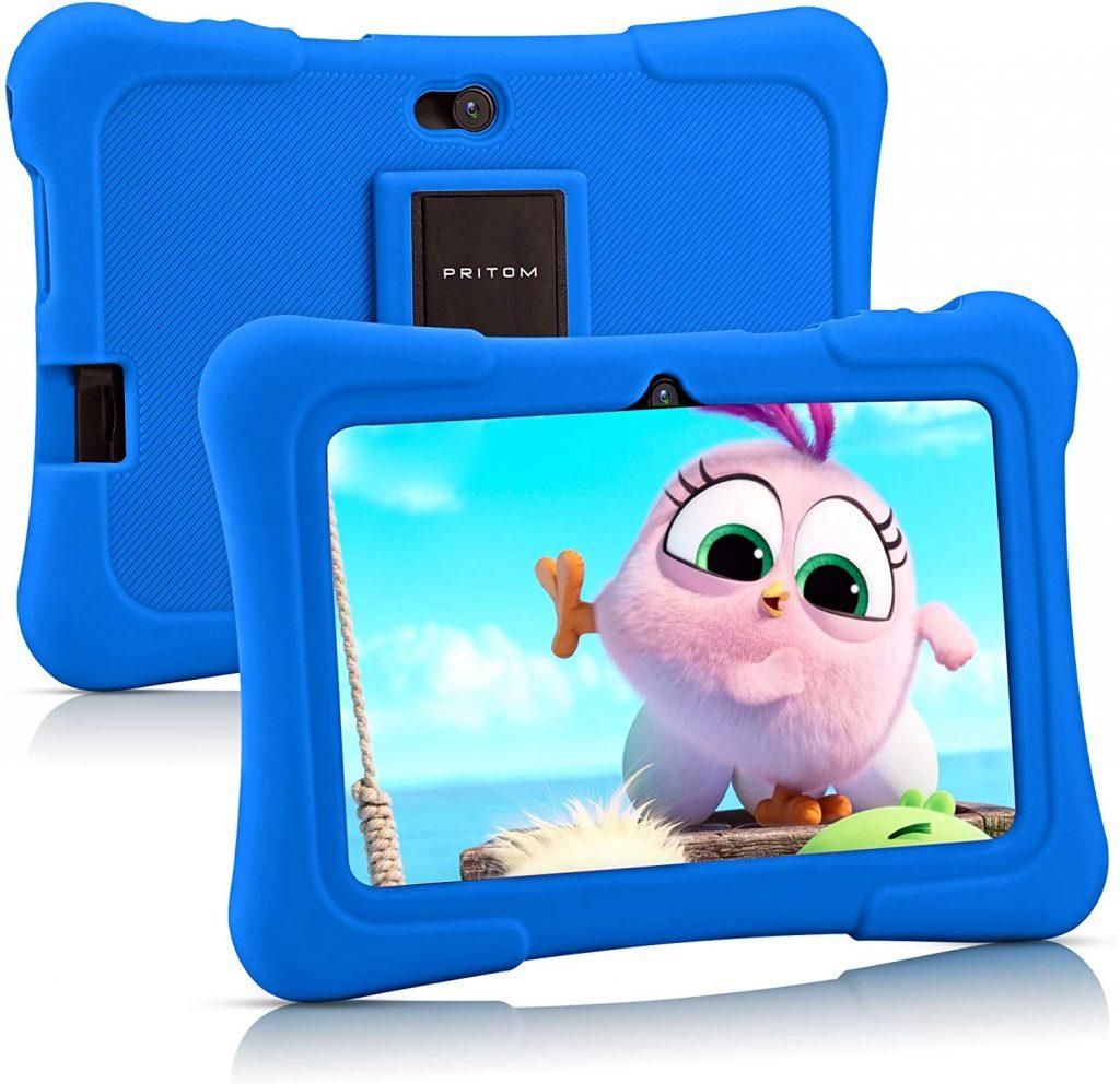 Tableta infantil de 7 pulgadas, Quad Core Android 10