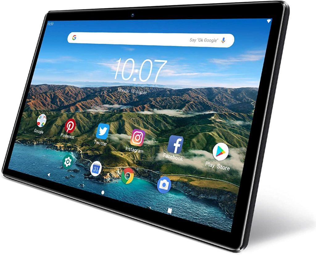 Tablet Android de 10 pulgadas, PRITOM M10.