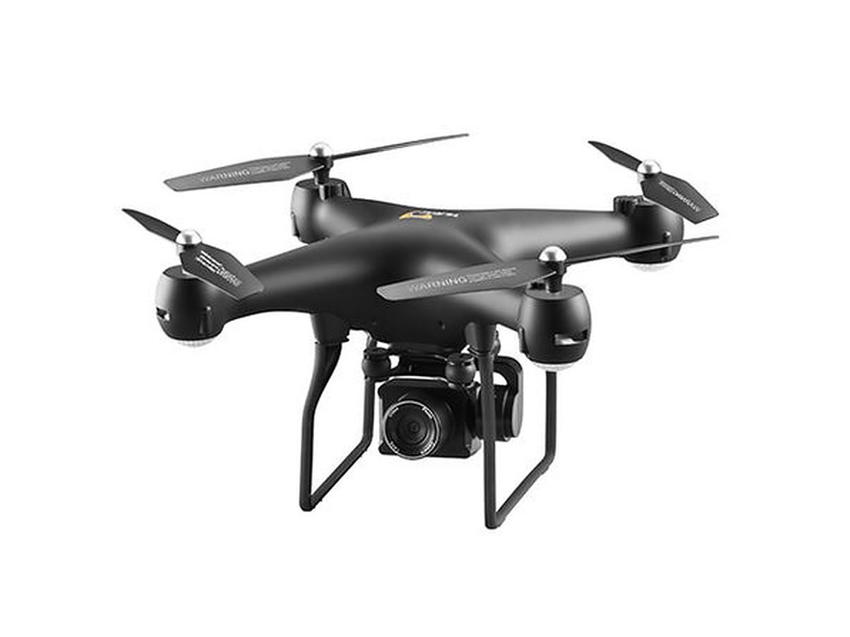 El dron con una sola cámara negro YLR